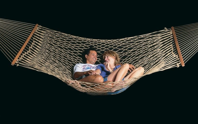 Ez Hawaiian Poly Double Hammock