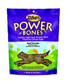 Zukes Power Bones Peanut Butter
