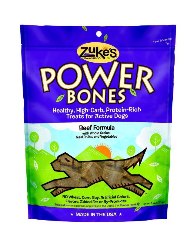 Zukes Power Bones Real Beef