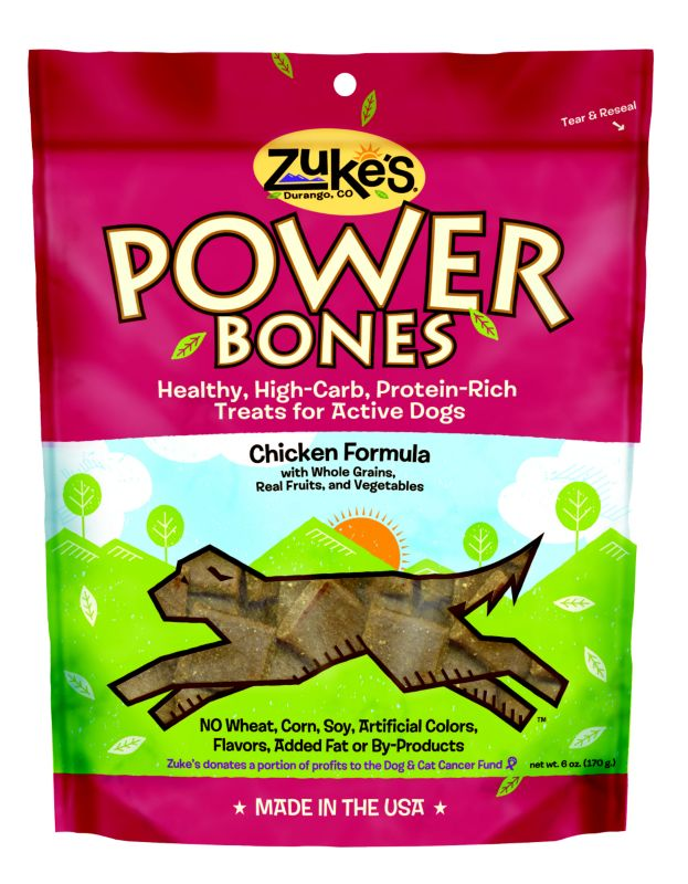 Zukes Power Bones Real Chicken