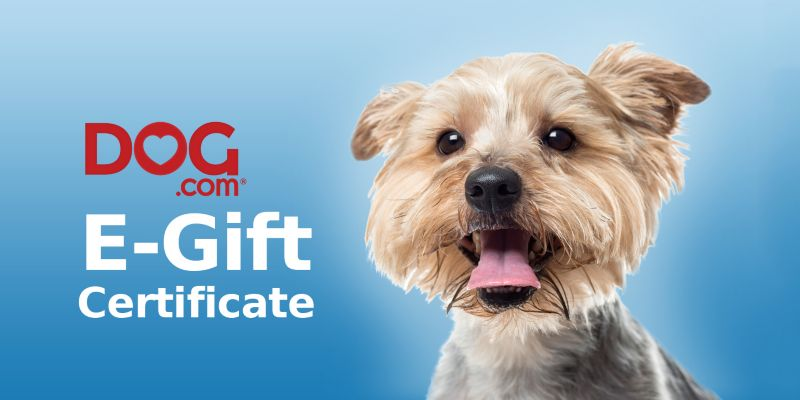 Dog.com Gift Certificates $25 Gift Certificate