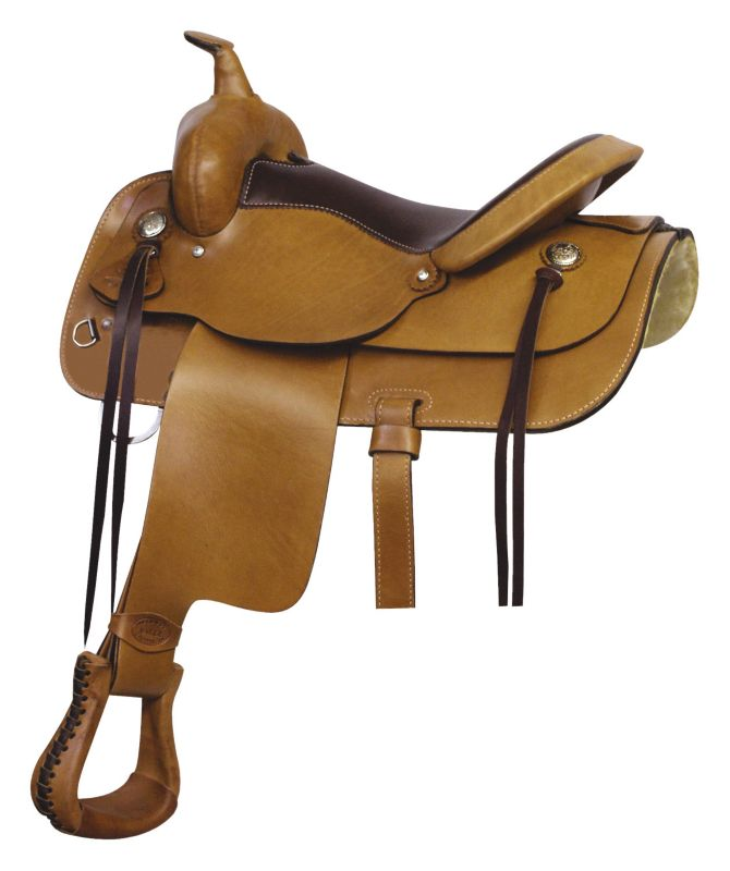 Billy Cook Saddlery Texas Trail Rider Saddle 15In