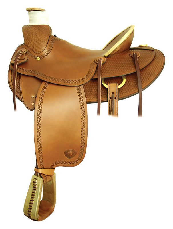 Flagstaff Ranch Saddle 16In Pecan
