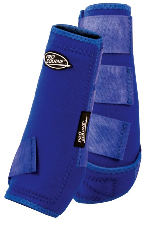 Pro Equine Ultra Sport Front Boot Large Royal