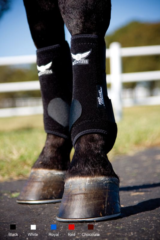 Pro Equine Relentless All-Around Front Boot Md Cho