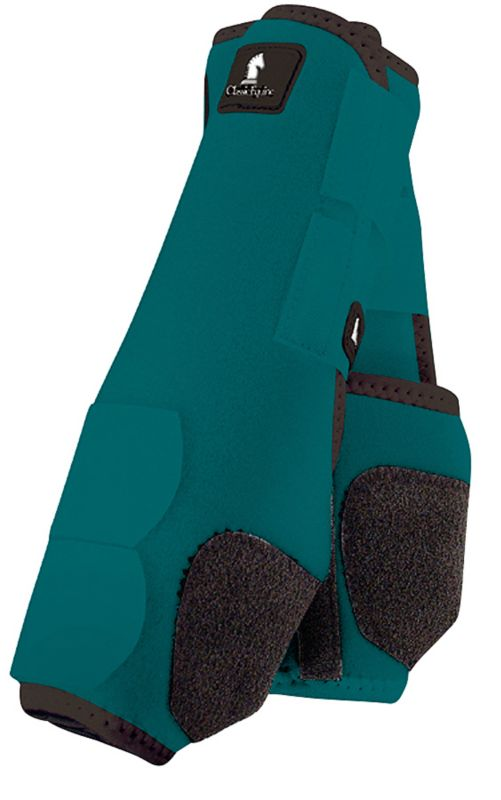 Classic Equine Legacy Front Boot Large Green