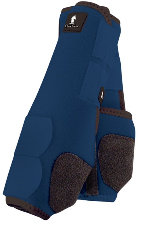 Classic Equine Legacy Front Boot Large Navy