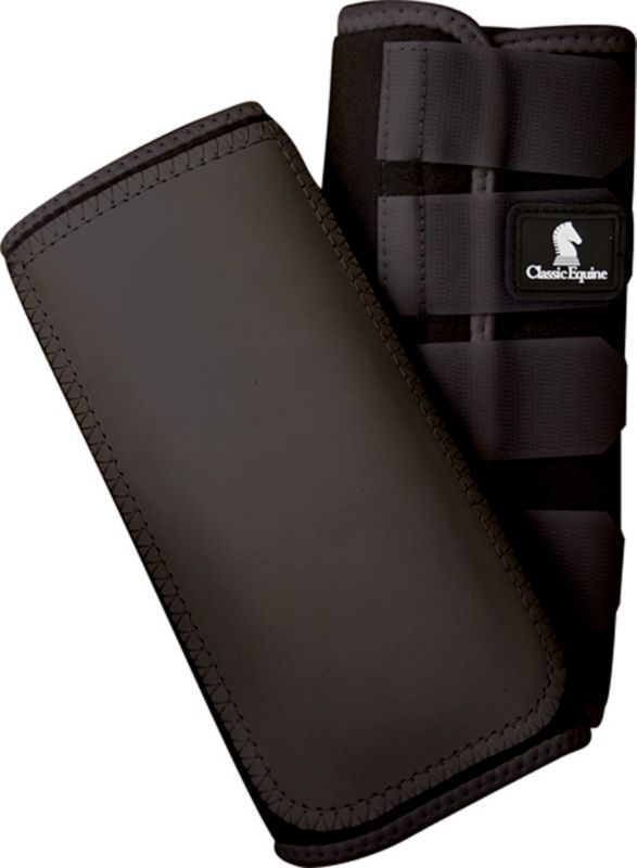 Classic Equine Safety Wrap Boot Medium Black