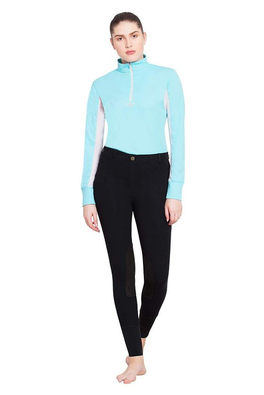 TuffRider Ladies Starter Pull On Breeches Charc