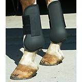 Basic Open Front Neoprene Padded Boots