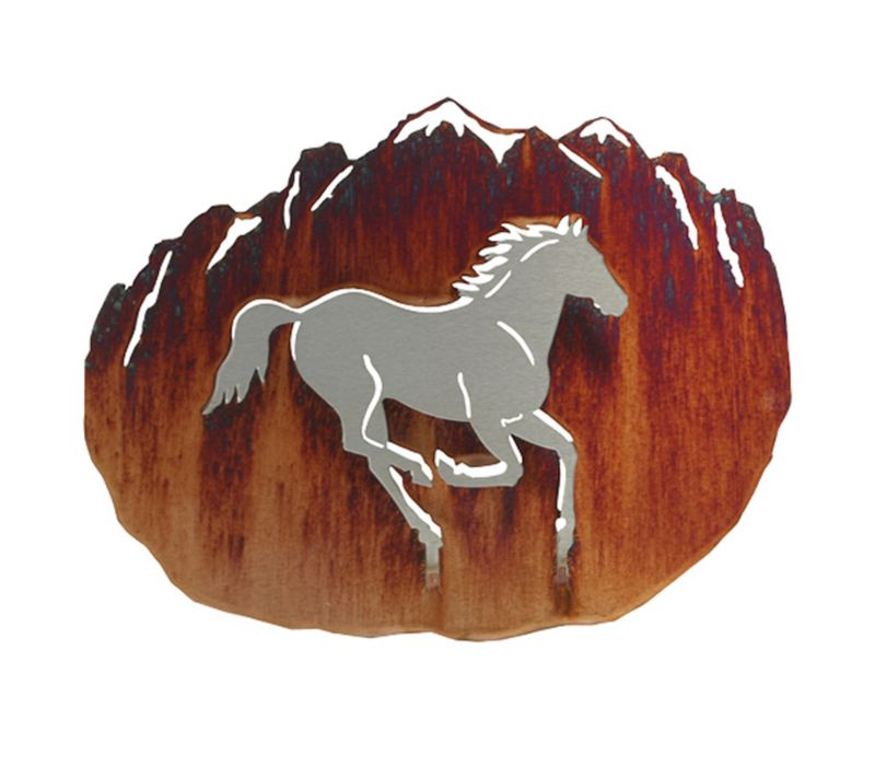 3D Horse Wall Art Honey Pinion Best Price