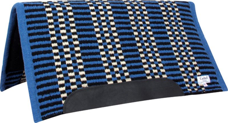 Cashel PF Rider Wedge Western Saddle Pad 30X32 Blu Best Price