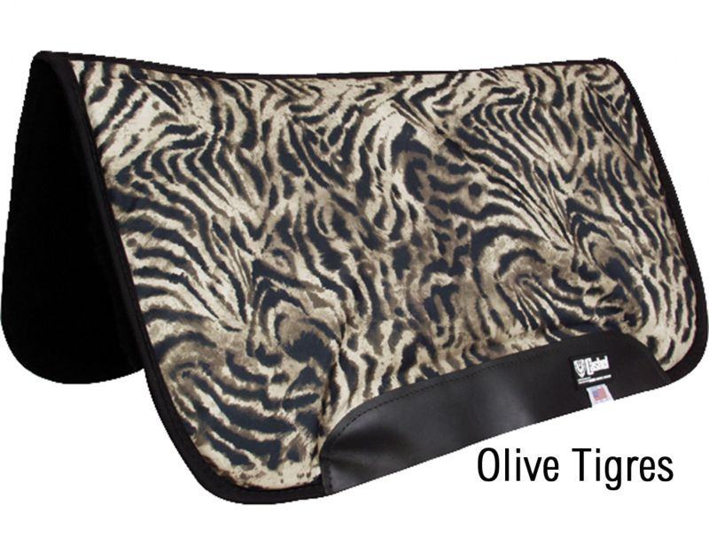 Cashel PF Rider Square Saddle Pad 32X34 Teal Tigre Best Price