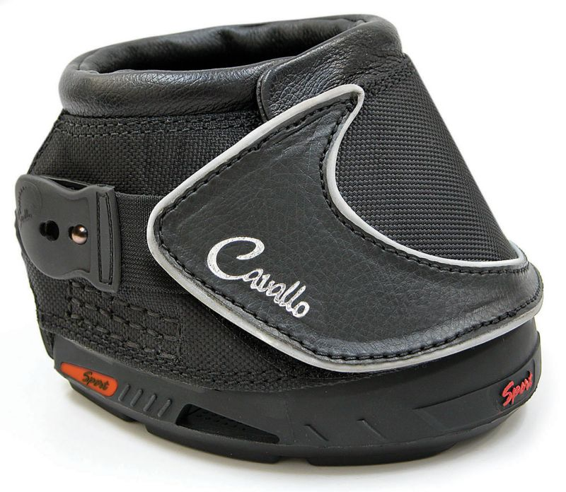 Cavallo Sport Hoof Boots Size 4 Black Best Price