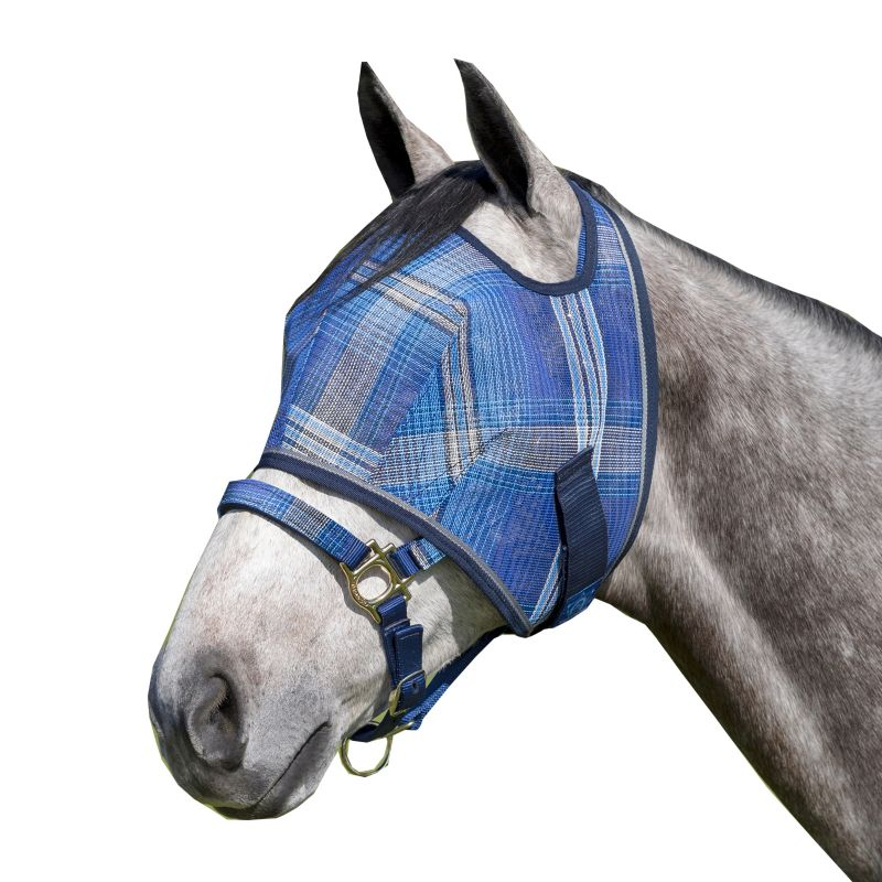Kensington Fly Mask with Web Trim X-Large Plum Ice