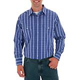 Wrangler Mens Wrinkle Resist Western Shirt