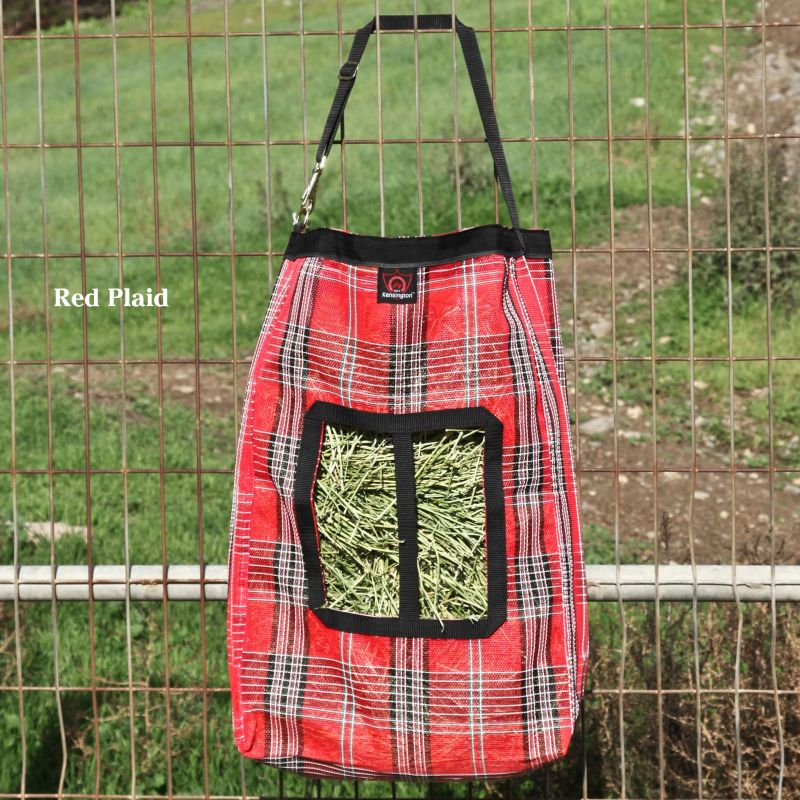 Kensington Hay Bag Hunter Plaid Best Price