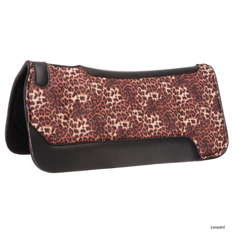 Tough-1 Safari Felt Saddle Pad w/Wear Leathers Gir