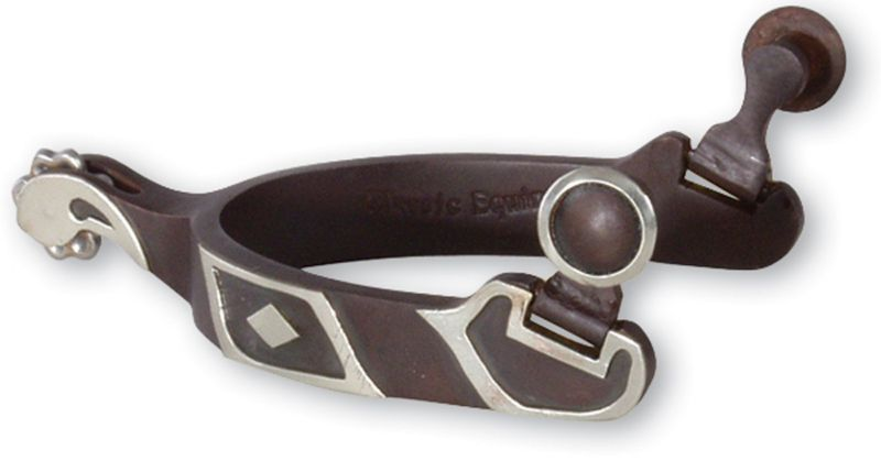 Classic Equine Black Diamond Blunt Rowel Spurs 5/8