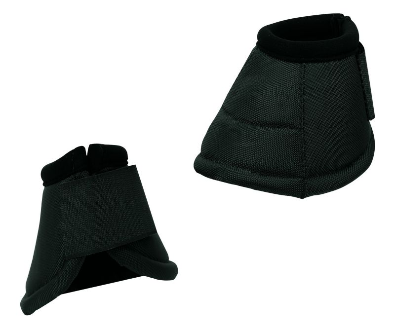 Weaver No Turn Overreach Bell Boots Large Black