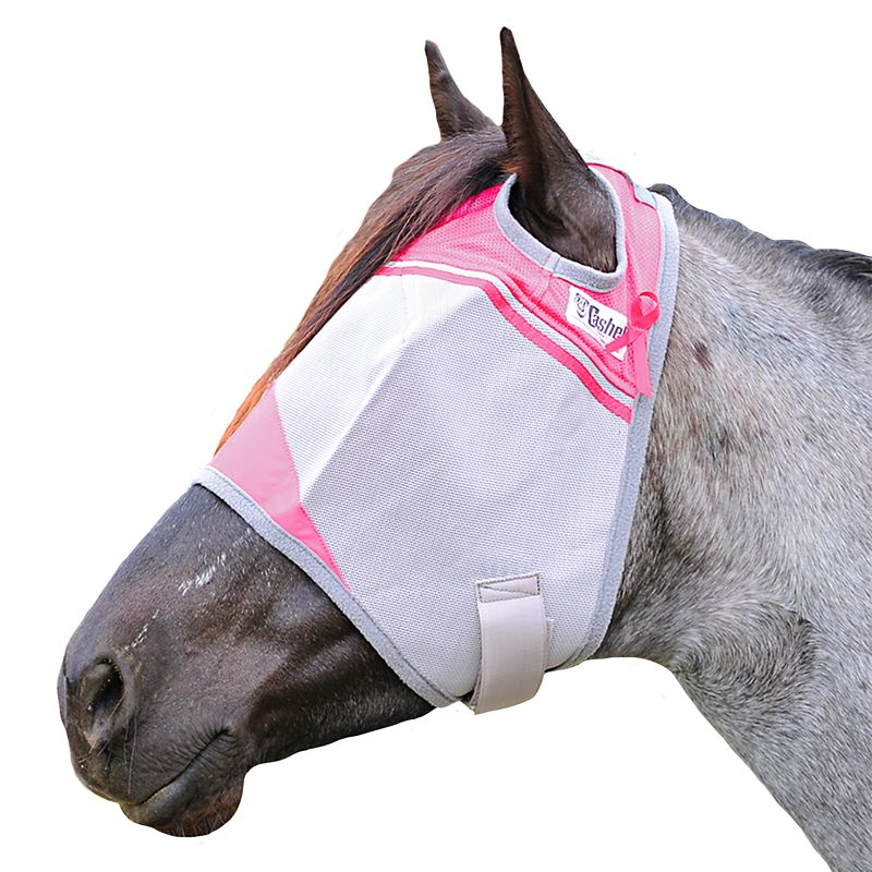 Cashel Breast Cancer Fly Mask Weanling/Pony Best Price