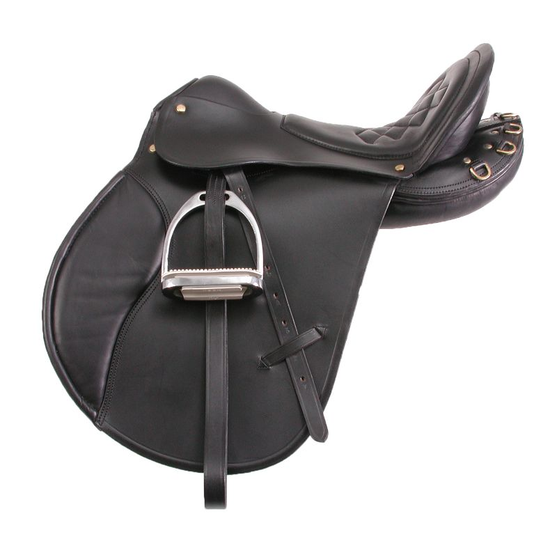 EquiRoyal Comfort Trail Saddle 21 Brown