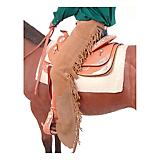 Tough-1 Suede Leather Western Show Chaps