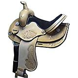 HH Saddlery Roughout Floral All Around Saddle