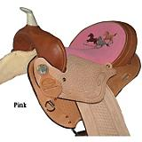 HH Saddlery Running Horse Barrel Saddle