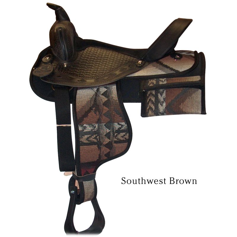 hh saddlery cordura trail sdl w/pockets 15 hot pnk on lovemypets.com
