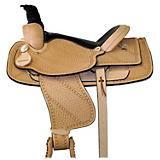 HH Saddlery Basket and Stars Roper Saddle