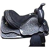 HH Saddlery Oak Tool Scallop Trail Saddle