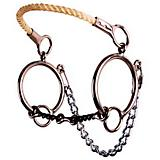 Reinsman Twisted Snaffle O-Ring Combo Bit