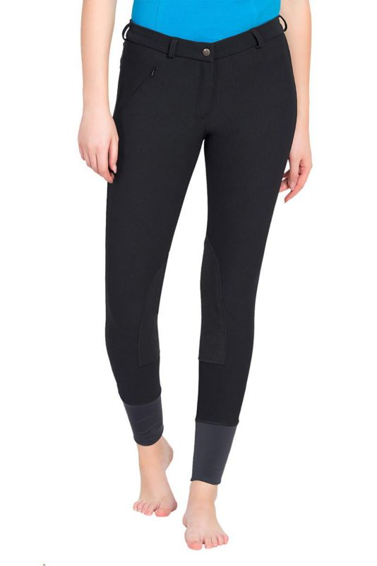 TuffRider Ladies Ribb Lowrise Breeches Black