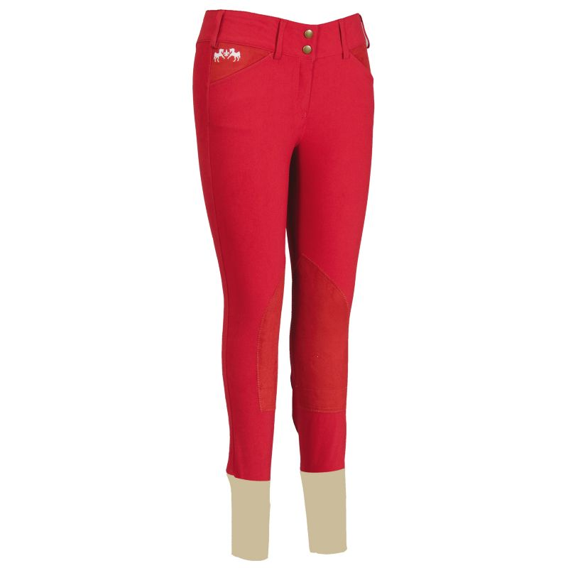 Equine Couture Ladies Regatta Breeches White