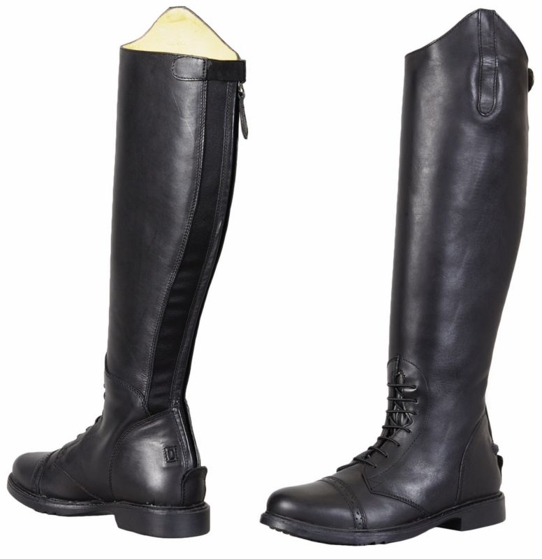 TuffRider Ladies Baroque Field Boot Reg Black