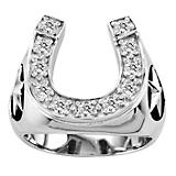 Kelly Herd Mens Stars and Horseshoe Ring