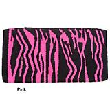 Tough-1 Wild Zebra Wool Saddle Blanket