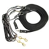 Walsh Harness Training Cotton Long Lines w/Pulley