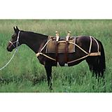 Weaver Deluxe Double Rigged Sawbuck Pack Saddle
