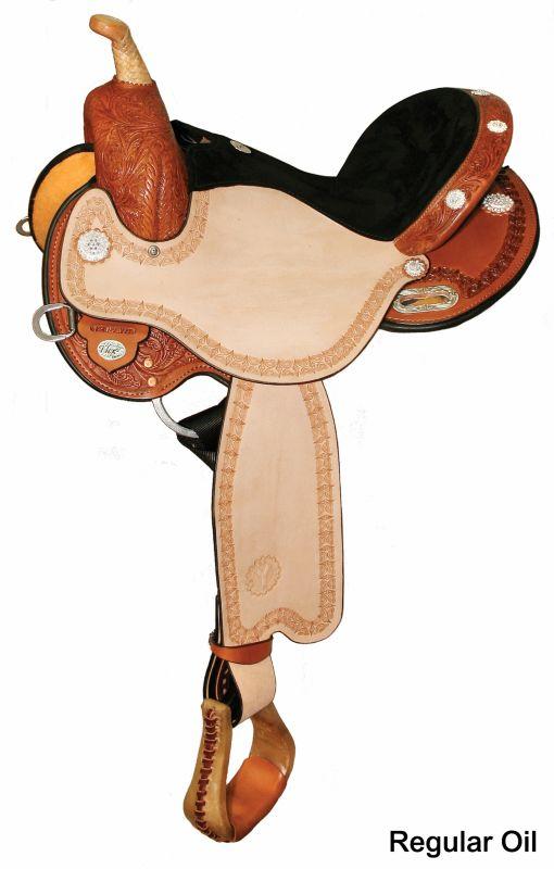 Circle Y Kaminski Flex2 Blaze Saddle Reg 13 Oil