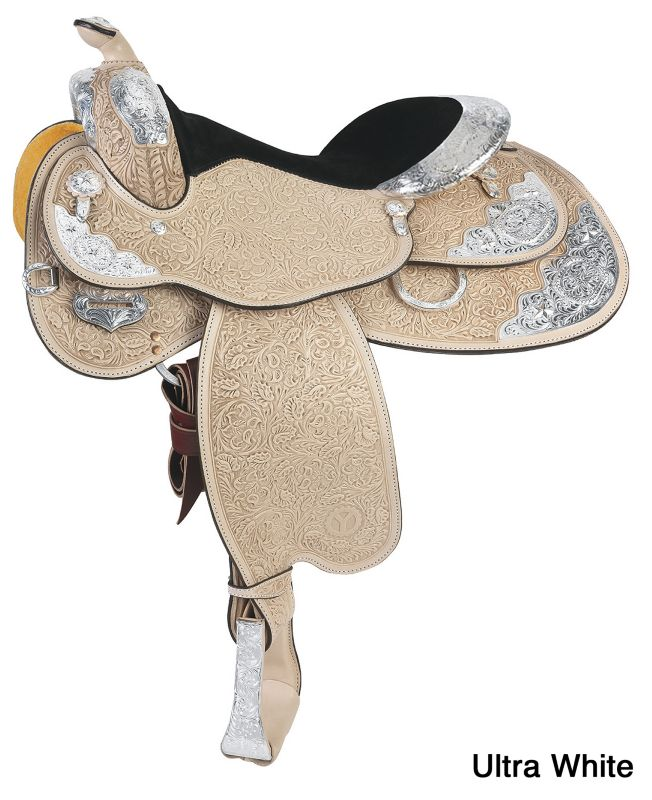 Circle Y Silver Twilight Show Saddle Wide