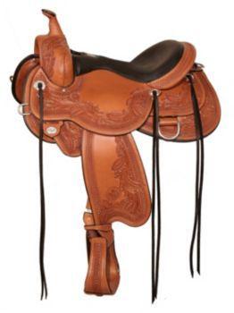 Circle Y Goodnight Monarch Trail Saddle W 14 Wal