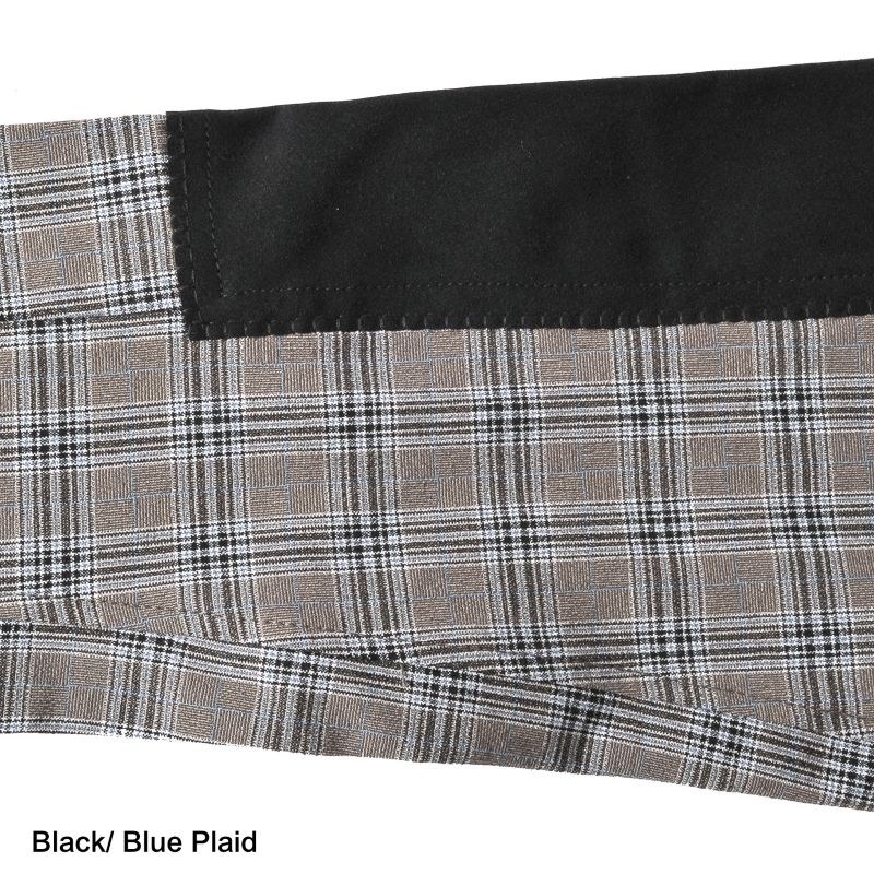 on course regal full seat breech 34r blue plaid on lovemypets.com