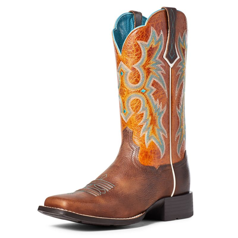 Ariat Ladies Tombstone Boots Sassy Brown