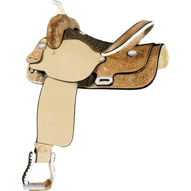 Billy Cook Saddlery Time Breaker Barrel Saddle 14