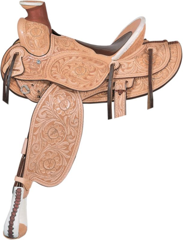 Billy Cook Saddlery Horn Plenty Rancher Saddle 16