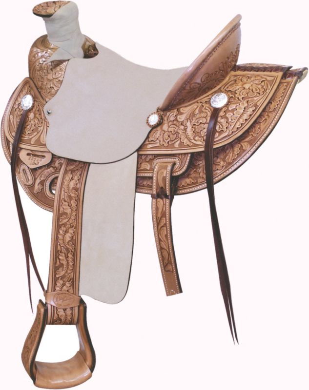 Billy Cook Saddlery Wade Ranch Roper Saddle 15.5