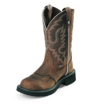 Justin Ladies Gypsy 11in Boots Aged Bark