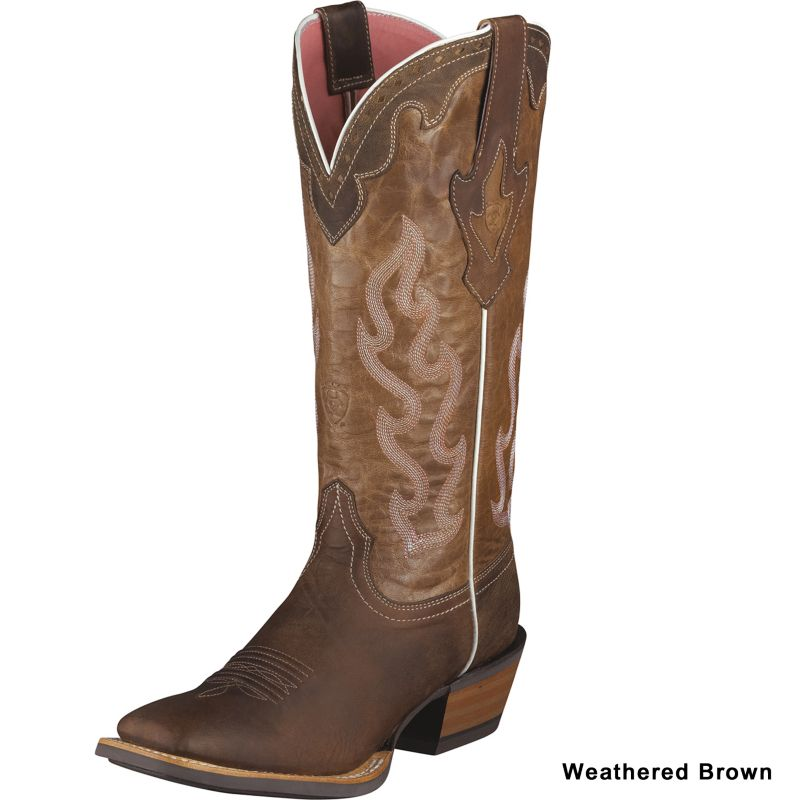 Ariat Ladies Crossfire Caliente Boots Weathered